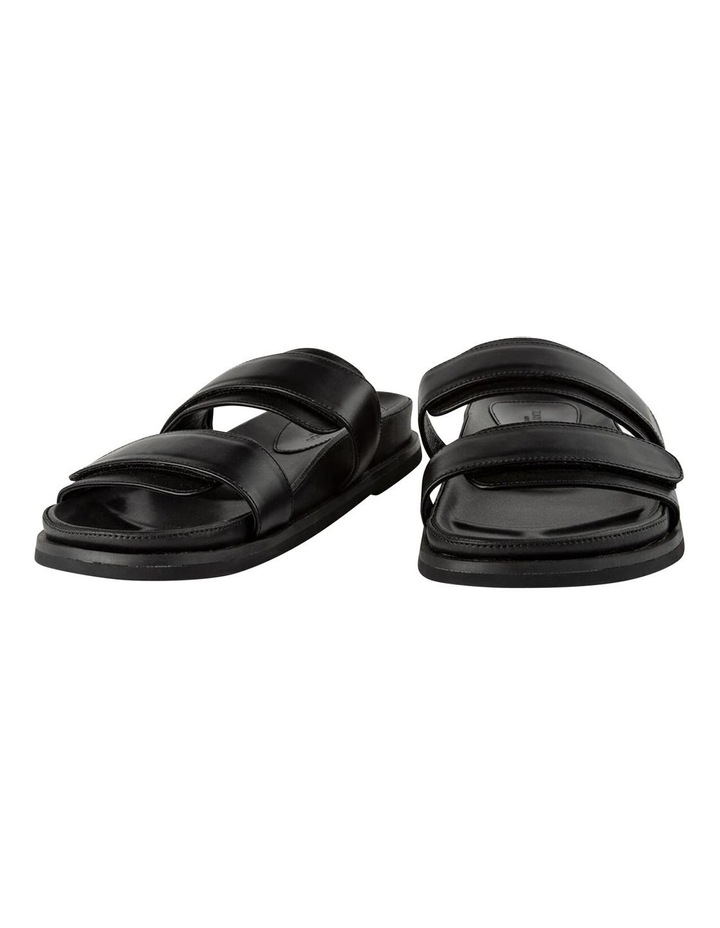 Hawk Black Capretto Sandals image 4