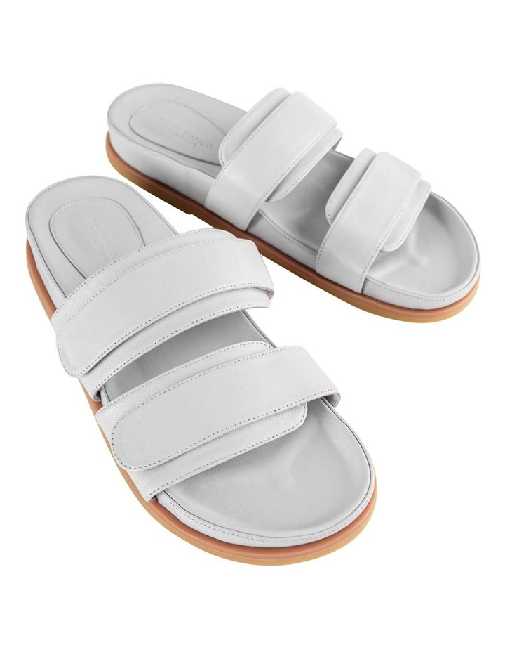 Hawk Light Grey Nappa Sandals image 2