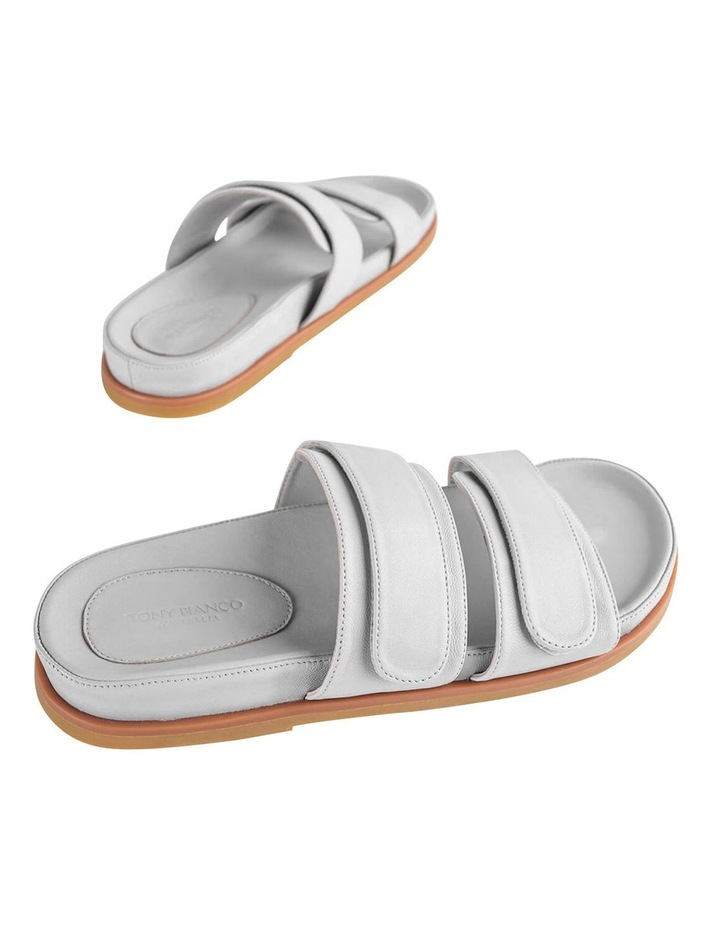 Hawk Light Grey Nappa Sandals image 3