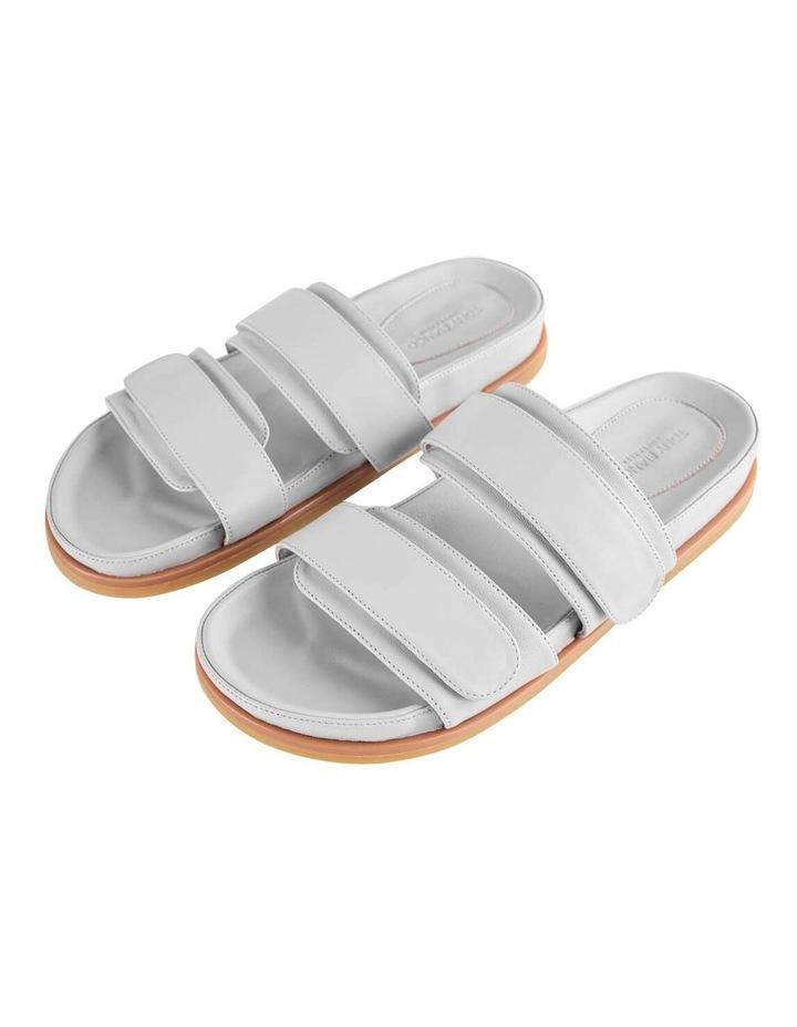 Hawk Light Grey Nappa Sandals image 5