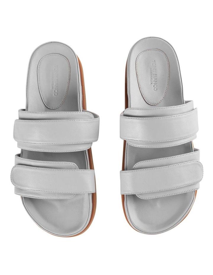 Hawk Light Grey Nappa Sandals image 6