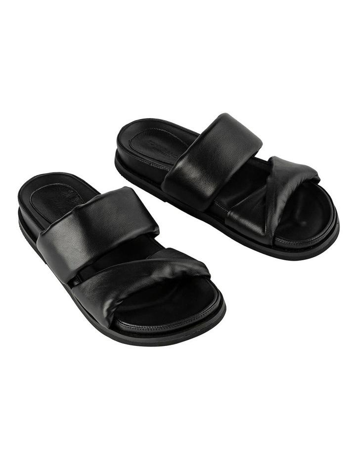 Henry Black Nappa Sandals image 2