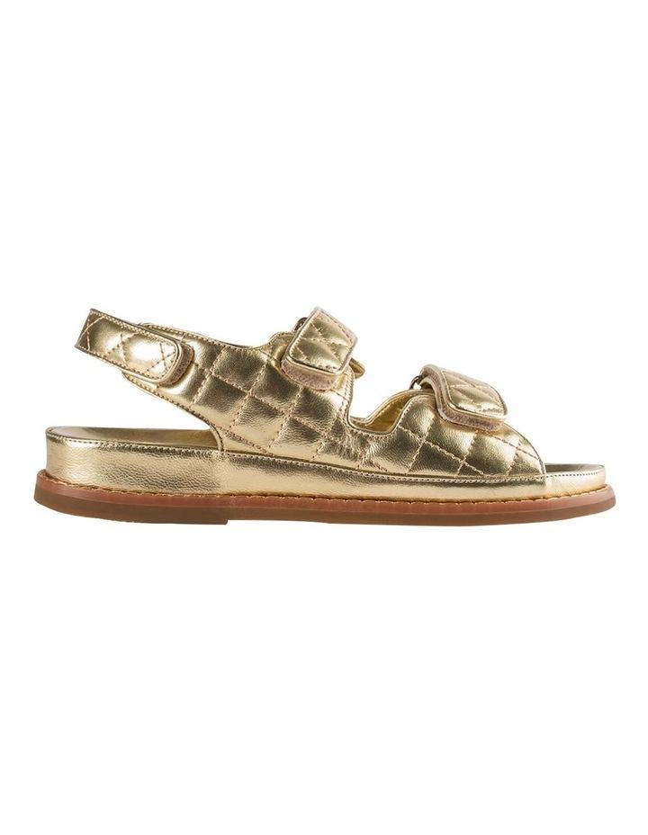 Hiranni Gold Nappa Sandals image 1