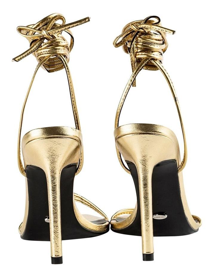 Millie Gold Foil Heels image 2