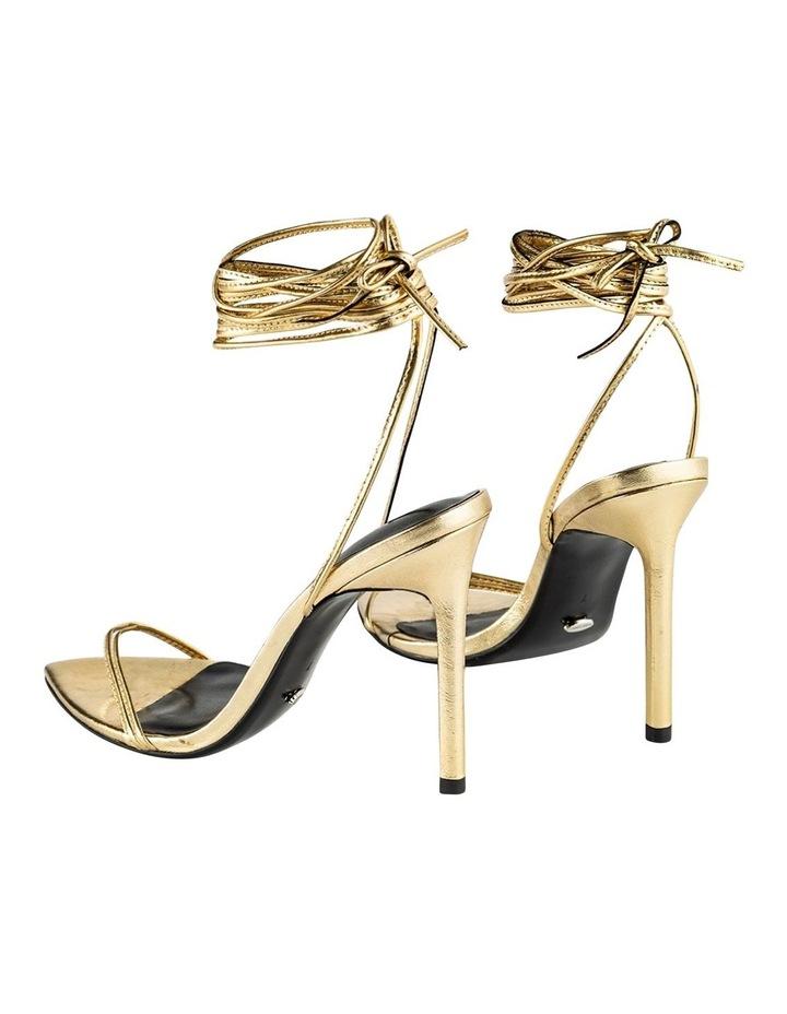 Millie Gold Foil Heels image 3