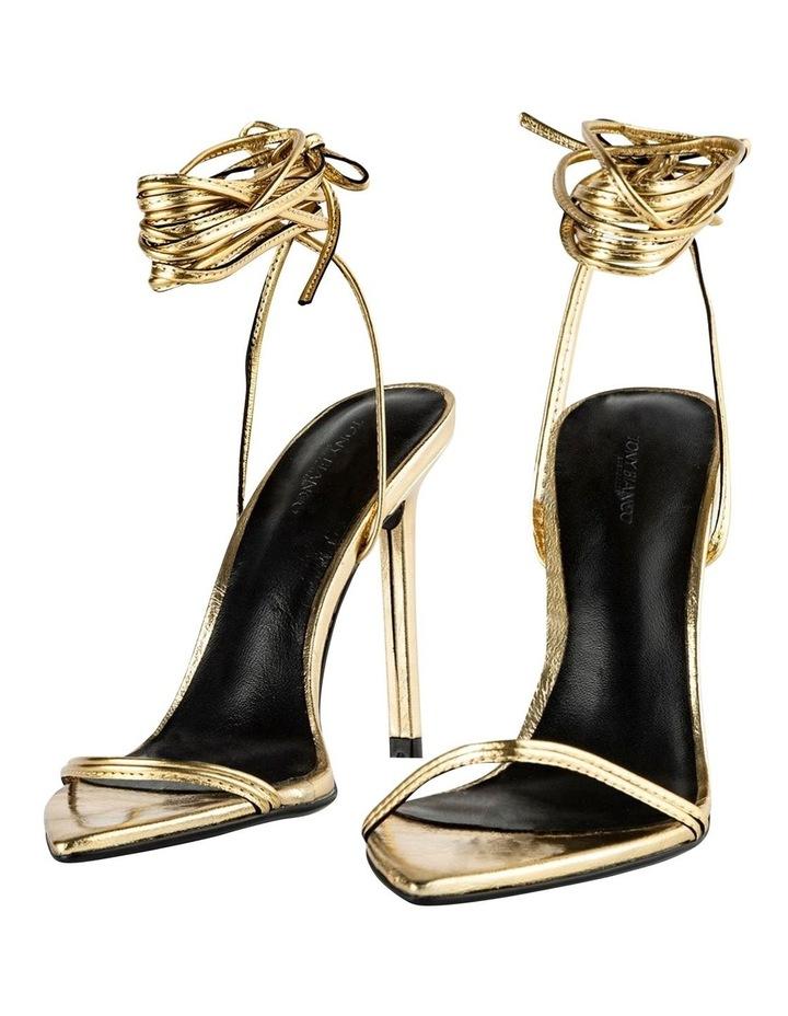 Millie Gold Foil Heels image 4