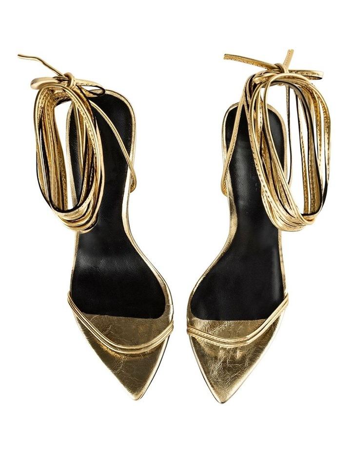 Millie Gold Foil Heels image 5