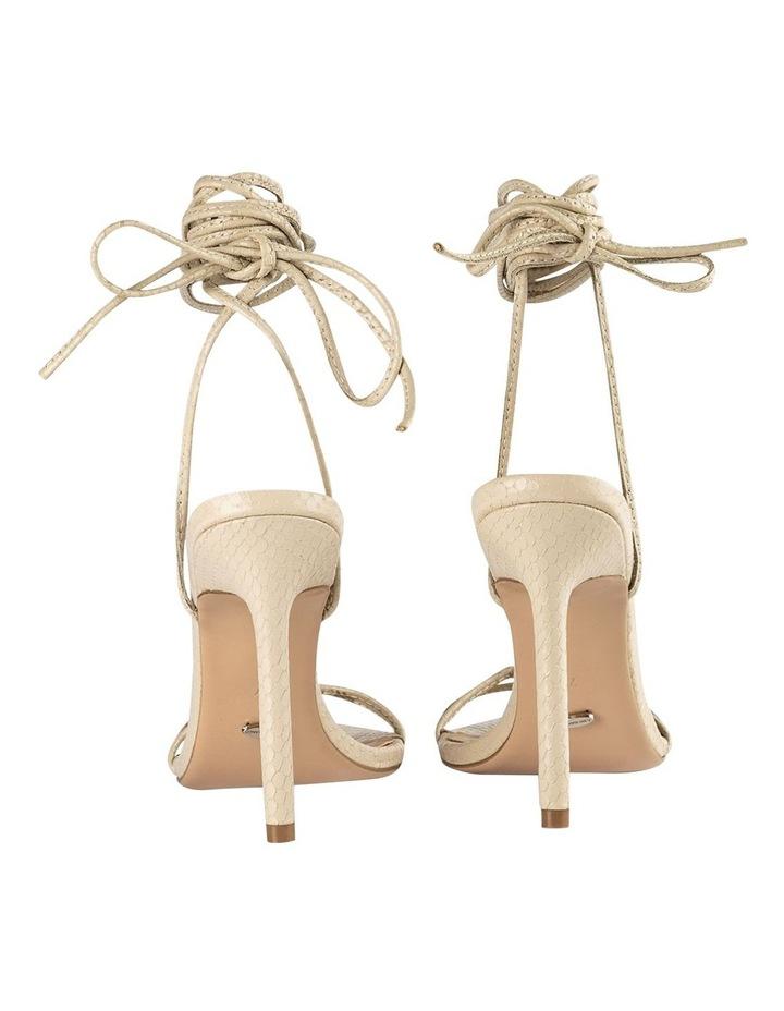 Millie Vanilla Snake Heels image 2
