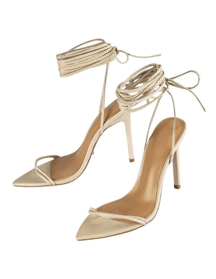 Millie Vanilla Snake Heels image 3