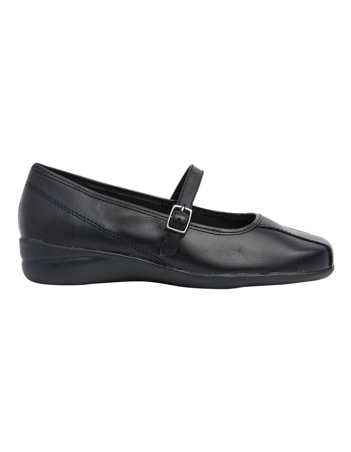Brianna Black Glove Flat Shoes image 1