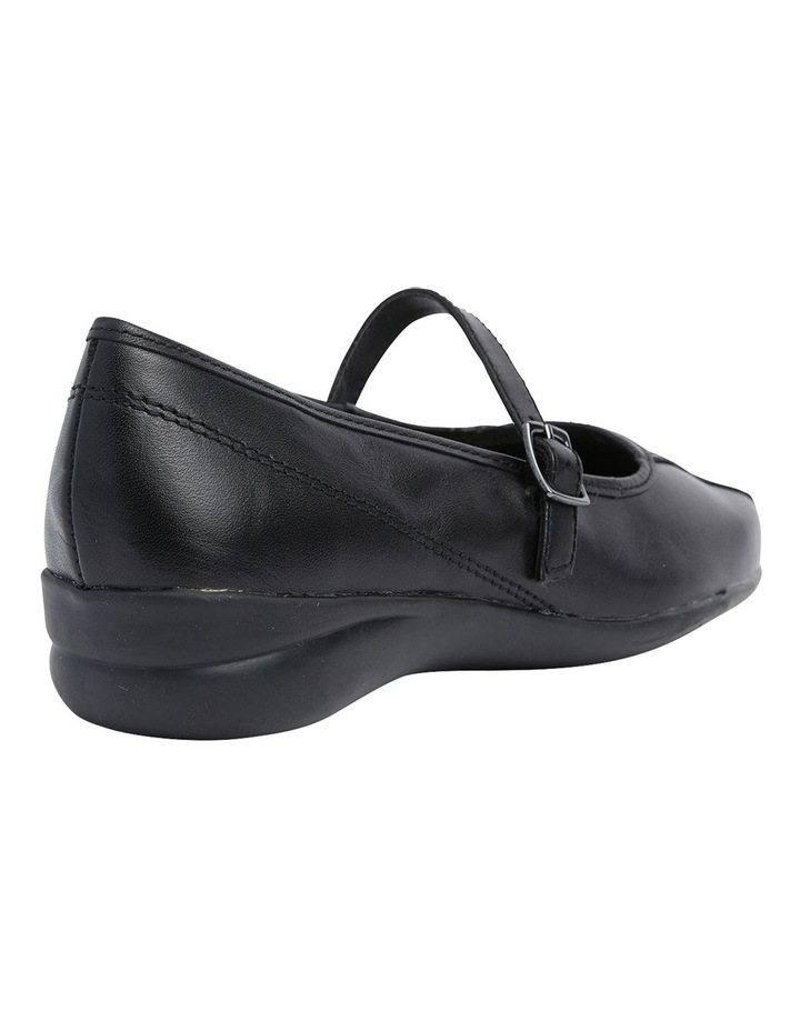 Brianna Black Glove Flat Shoes image 4