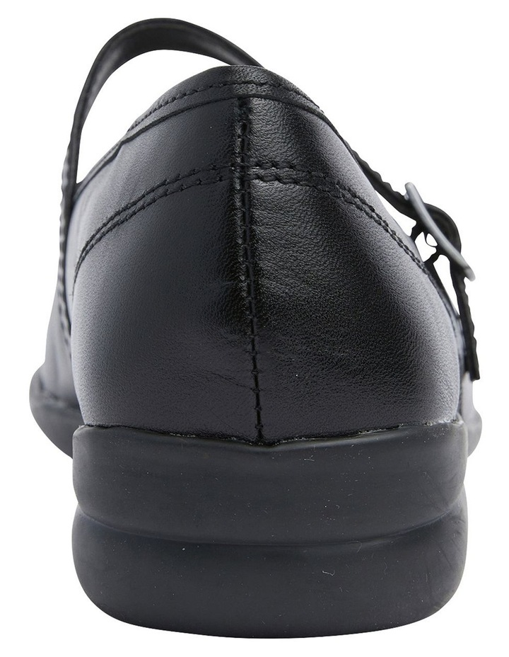 Brianna Black Glove Flat Shoes image 5