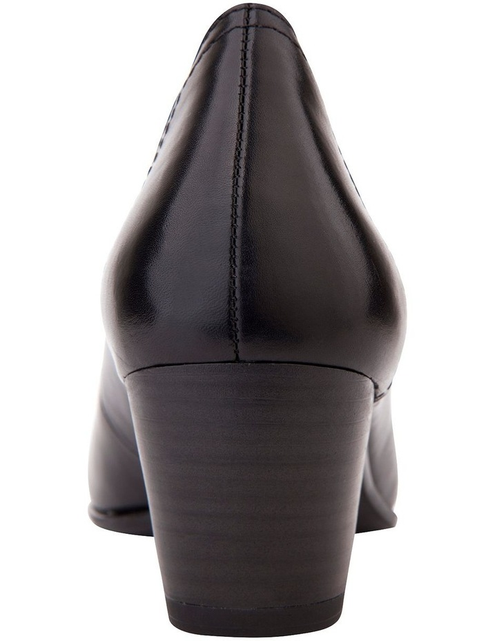 Cyrus Black Glove Heeled Shoes image 3