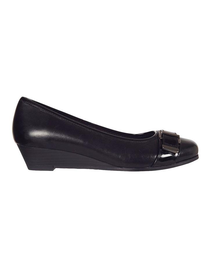 Napier Black Glove / Patent Heeled Shoes image 1