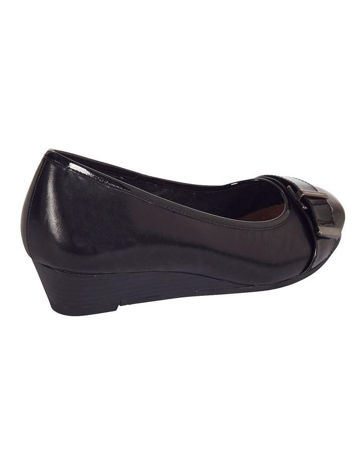 Napier Black Glove / Patent Heeled Shoes image 3