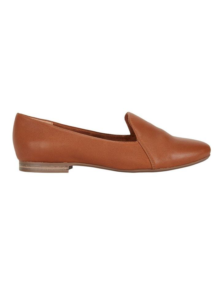 Castle Cognac Glove Flat Shoes image 1
