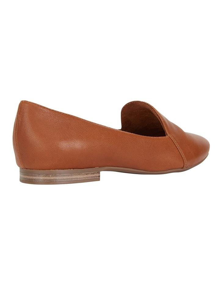Castle Cognac Glove Flat Shoes image 4