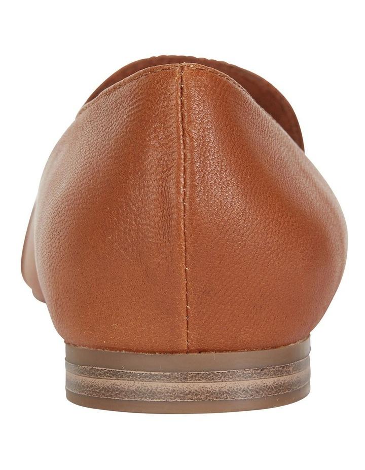 Castle Cognac Glove Flat Shoes image 5