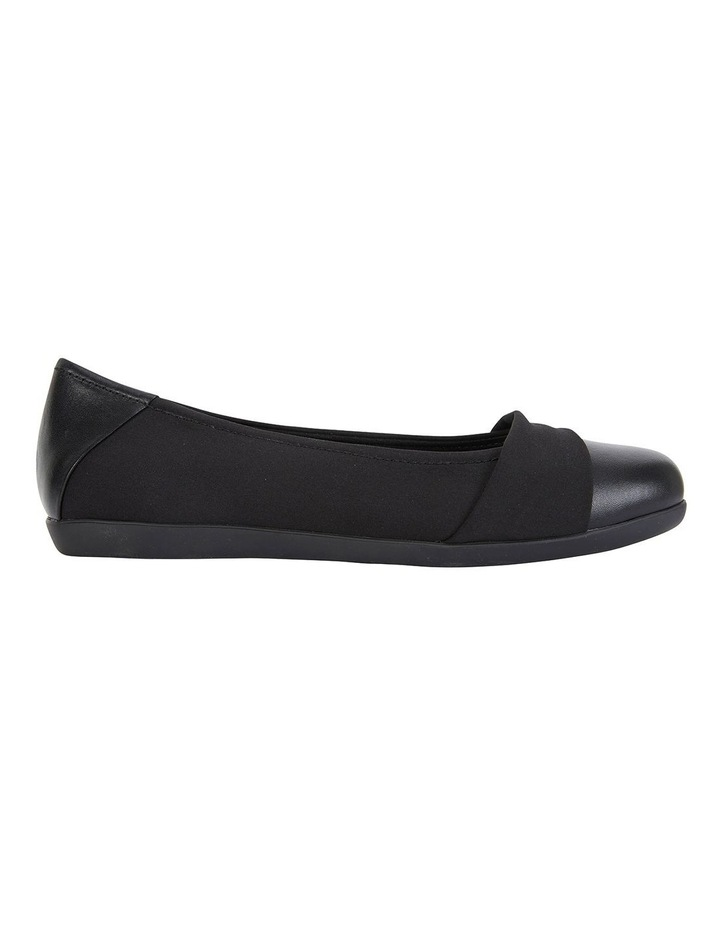 Fenton Black Glove/Fabric Flat Shoes image 1