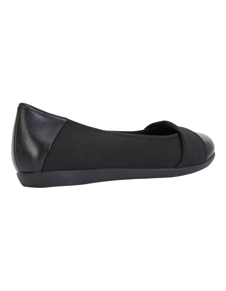 Fenton Black Glove/Fabric Flat Shoes image 4