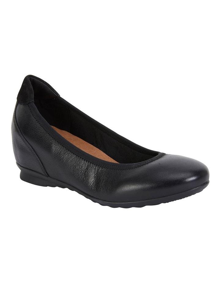 Norah Black Glove Heeled Shoes image 2