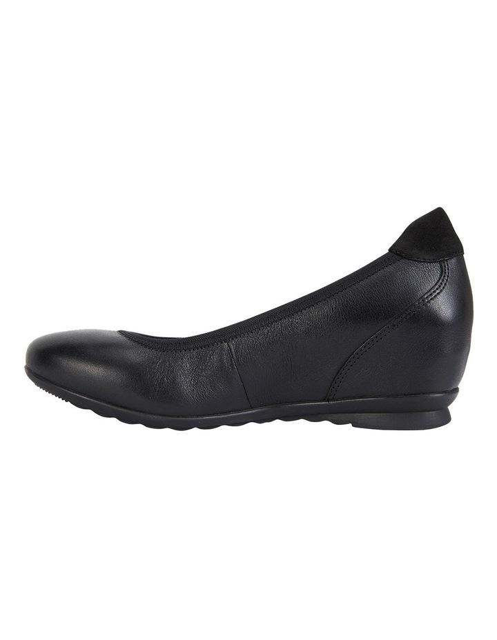 Norah Black Glove Heeled Shoes image 3