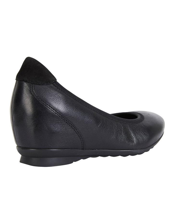 Norah Black Glove Heeled Shoes image 4