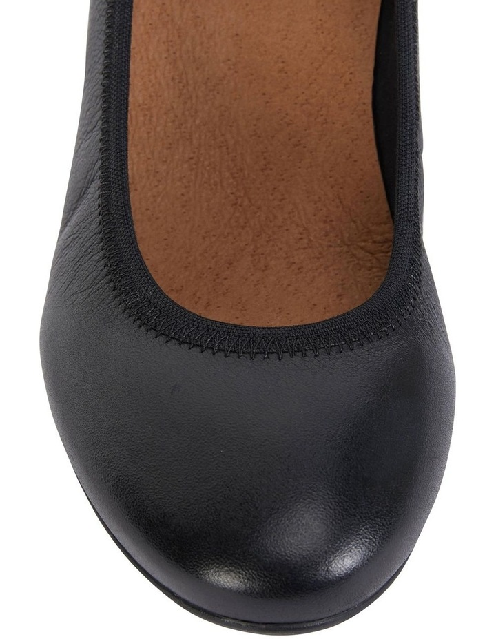 Norah Black Glove Heeled Shoes image 7