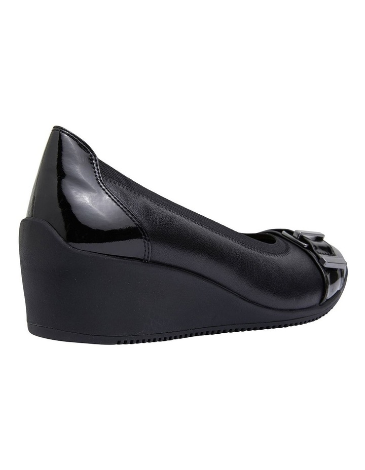 Narita Black Glove Heeled Shoes image 4