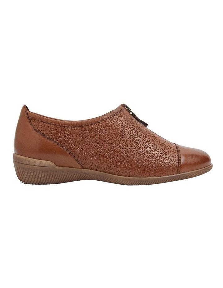 Wiley Cognac Glove Flat Shoes image 1