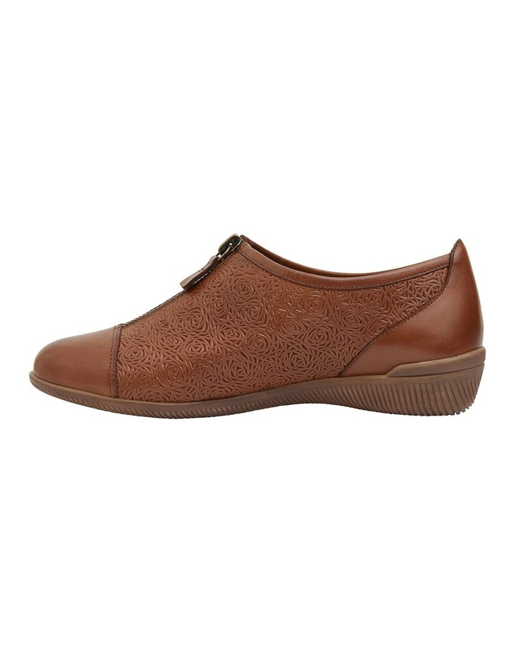 Wiley Cognac Glove Flat Shoes image 2