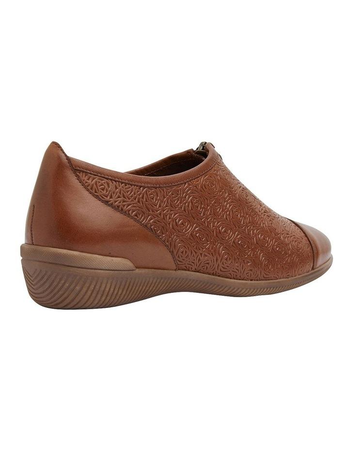 Wiley Cognac Glove Flat Shoes image 3