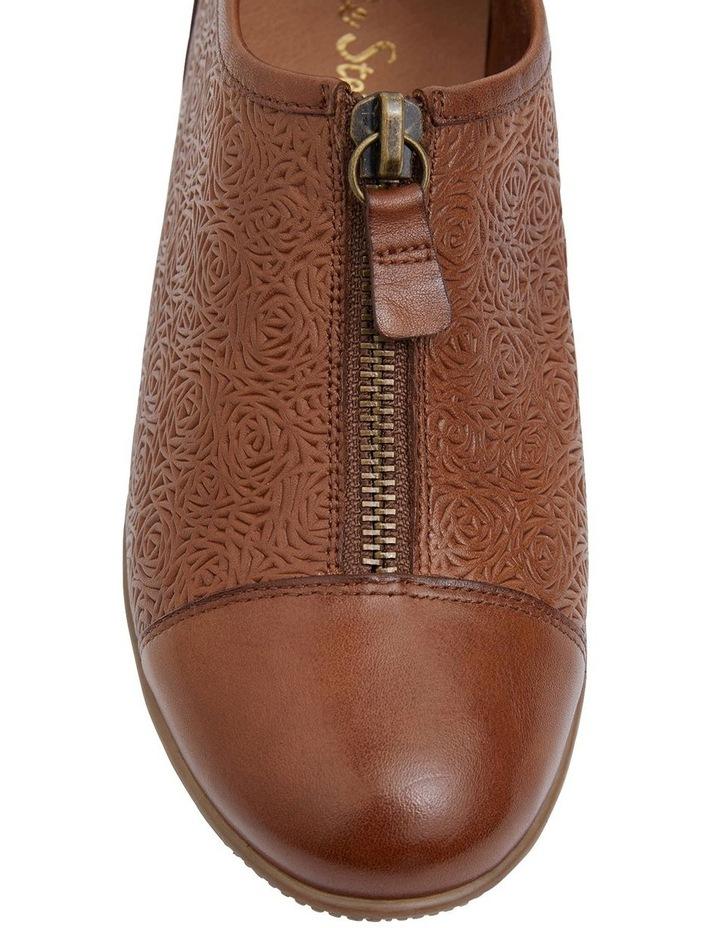 Wiley Cognac Glove Flat Shoes image 6