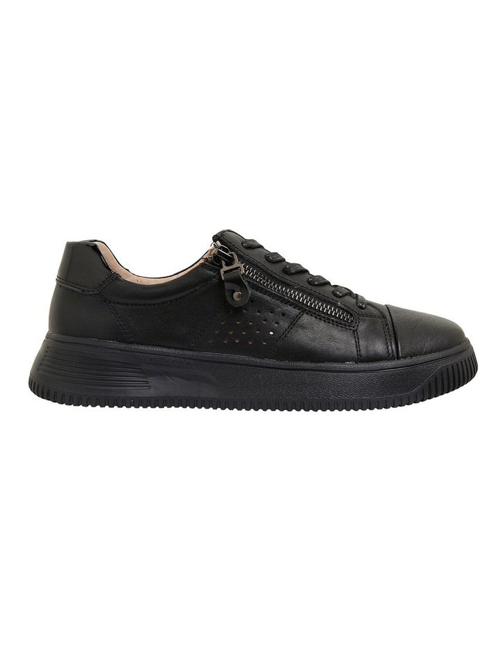 Novella Black/Black Patent Sneakers image 1