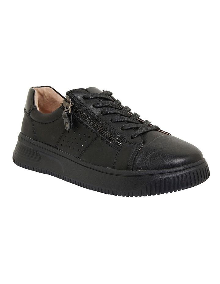 Novella Black/Black Patent Sneakers image 2