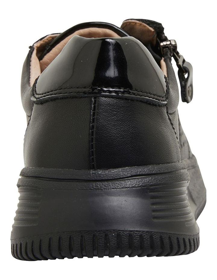 Novella Black/Black Patent Sneakers image 5