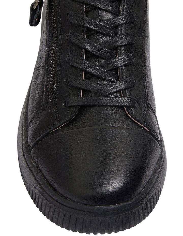 Novella Black/Black Patent Sneakers image 6