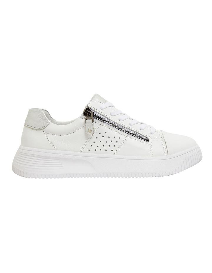 Novella White/Silver Glove Sneakers image 1