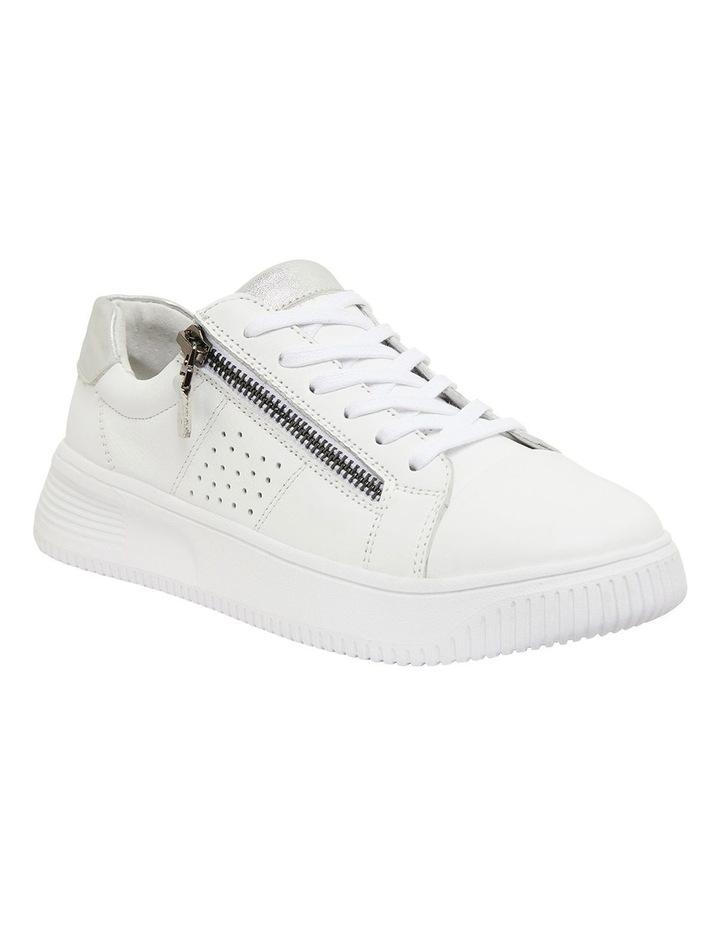 Novella White/Silver Glove Sneakers image 2