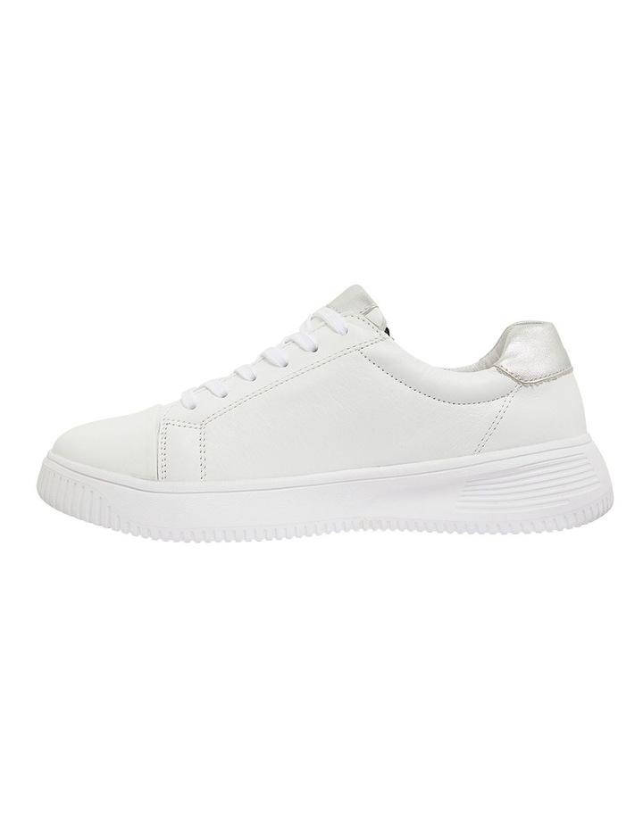 Novella White/Silver Glove Sneakers image 3