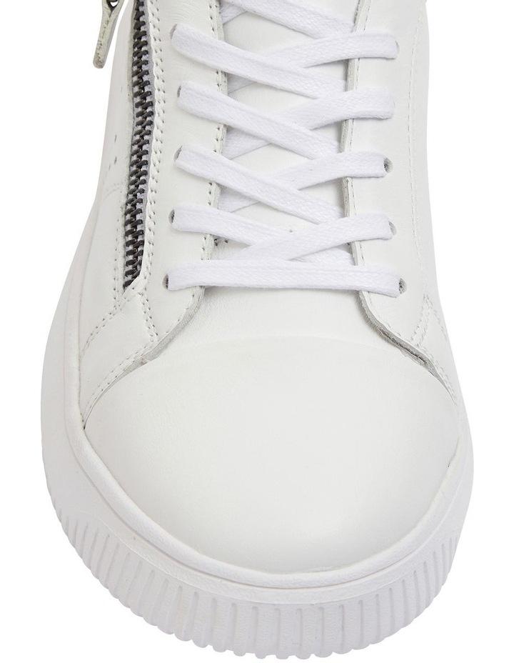 Novella White/Silver Glove Sneakers image 6