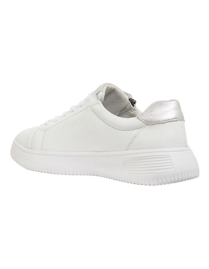 Novella White/Silver Glove Sneakers image 7