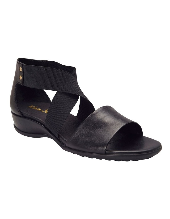 Charity Black Glove Sandal image 2