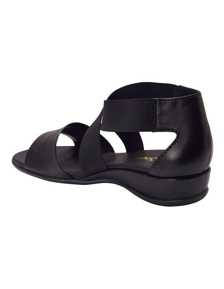 Charity Black Glove Sandal image 3