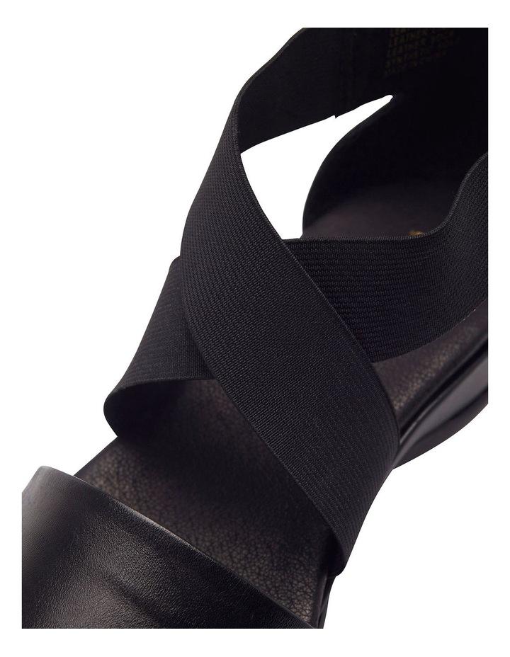 Charity Black Glove Sandal image 5