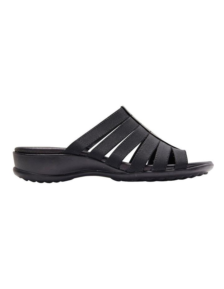 Canal Black Elastic/Glove Sandal image 1