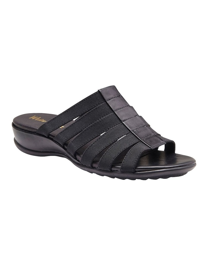 Canal Black Elastic/Glove Sandal image 2