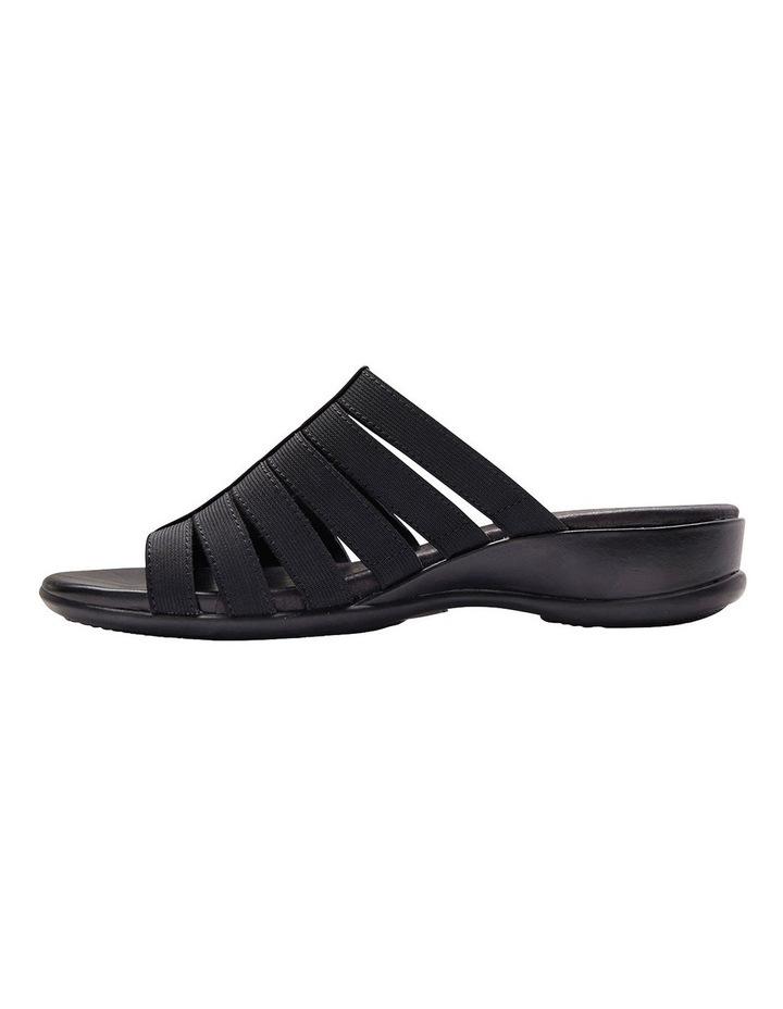 Canal Black Elastic/Glove Sandal image 3