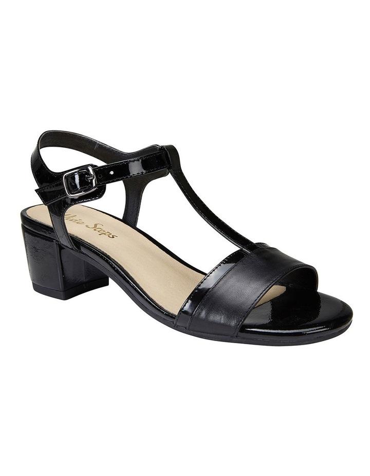 Ella Black Glove/Patent Sandal image 2