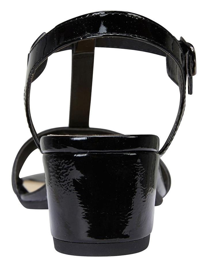 Ella Black Glove/Patent Sandal image 5